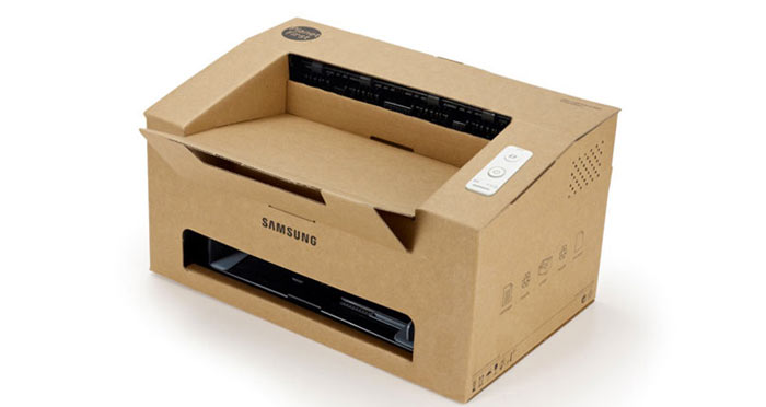 Origami from Samsung, A Foldable Cardboard Laser Printer on Jebiga