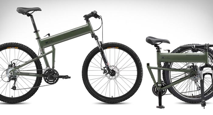 Paratrooper Folding Bicycle by Montague on Jebiga