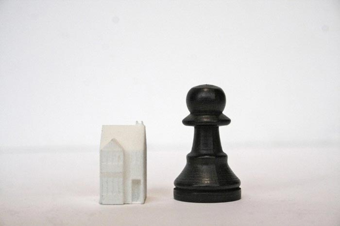 Skyline Chess Set piece and landmark
