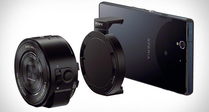 Sony QX Series Smartphone Attachable Lens Camera on Jebiga