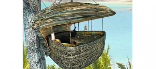 Treepod at Soneva Kiri |Suspended Dining Pod in Thailand