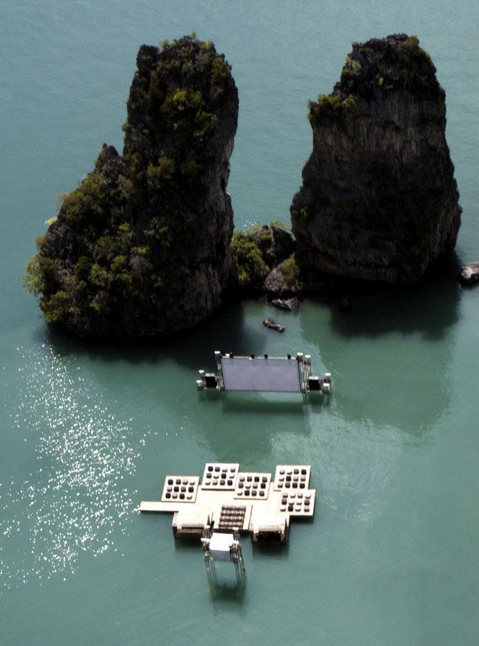 Archipelago Cinema Floating Cinema in Thailand