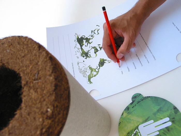 Bios Urn A Biodegradable and eco-friendly Urn