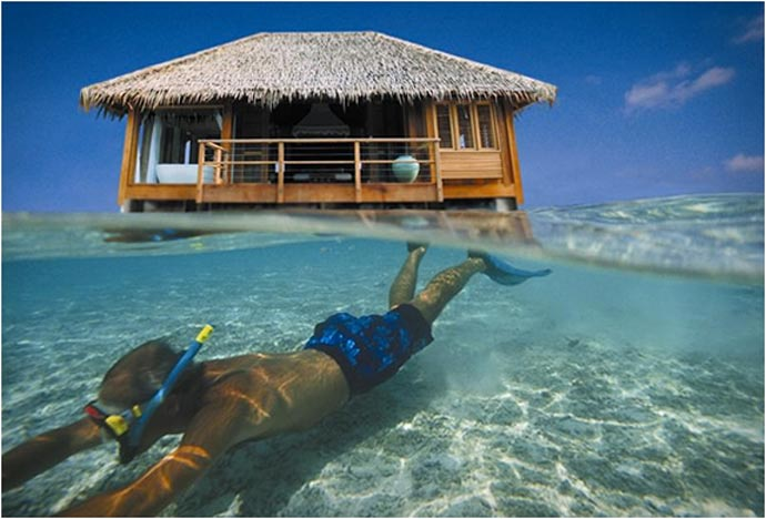 Snorkeling at Club Med Kani Family Resort in The Maldives