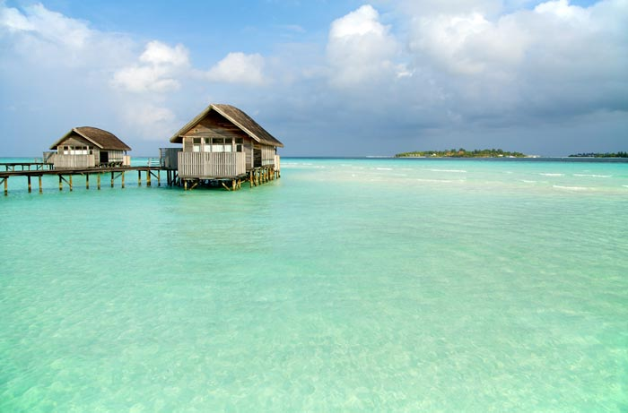 Water bungalow in The Maldives Cocoa Island