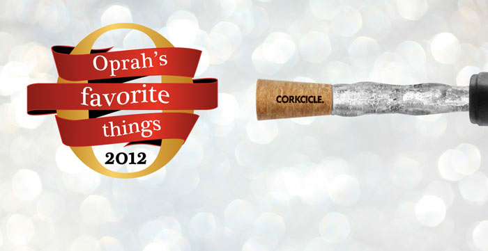 Oprah's favorite thing, the Corkcicle Wine Chiller