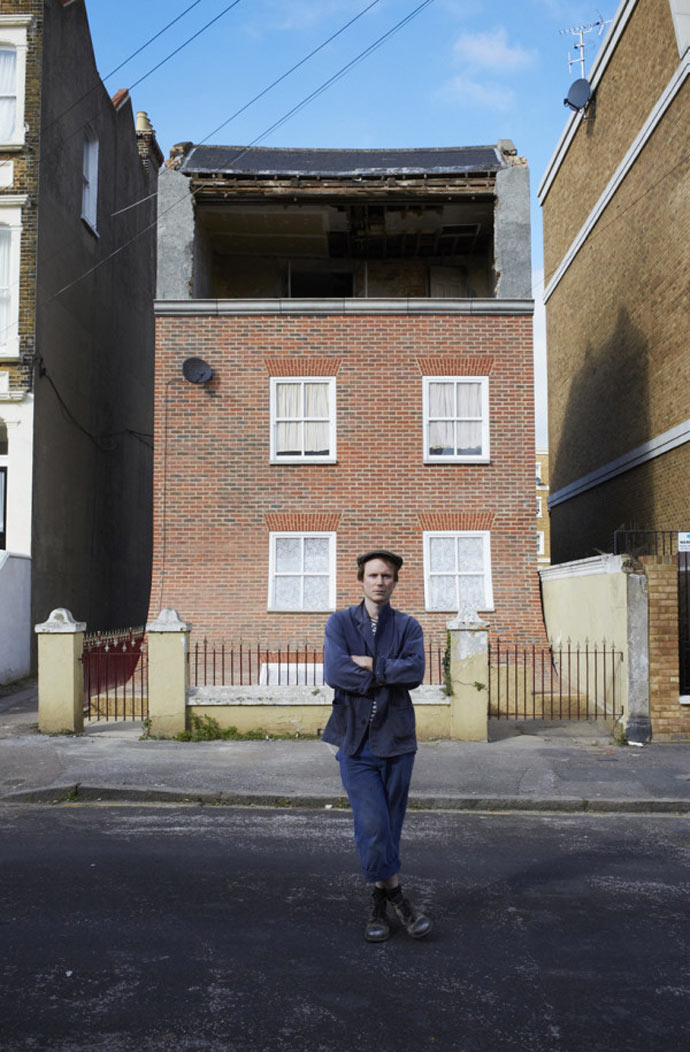 """From the Knees of My Nose to the Belly of My Toes"" by Alex Chinneck"