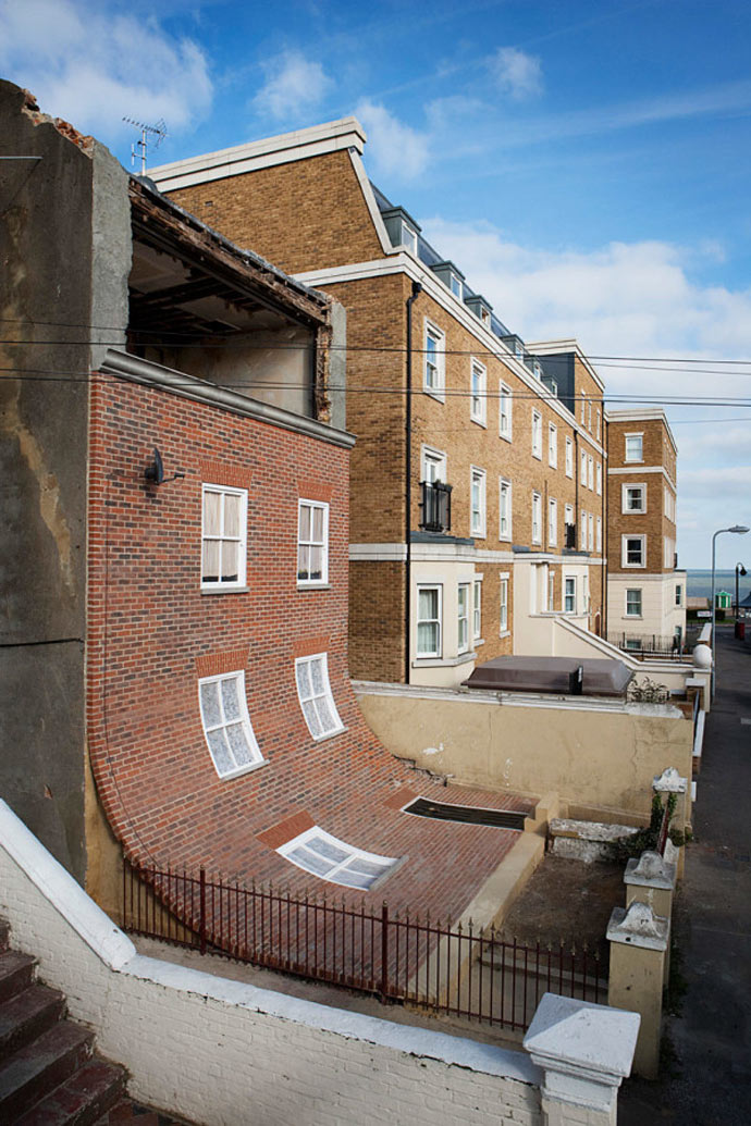 From the Knees of My Nose to the Belly of My Toes by Alex Chinneck 9