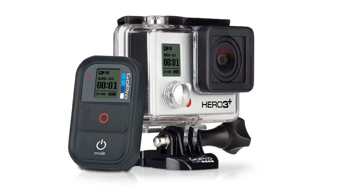 Black Edition of the GoPro Hero3+ Action Camera