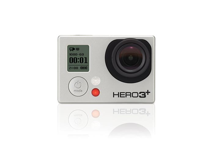 Front view of the GoPro Hero3+ HD Action Camera