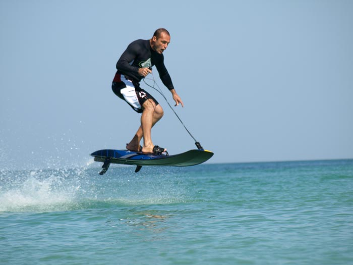 JetSurf in action