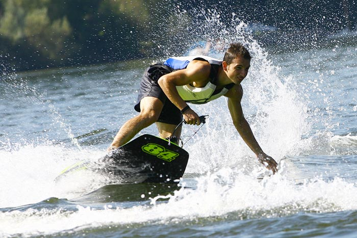 Surfboard With Engine