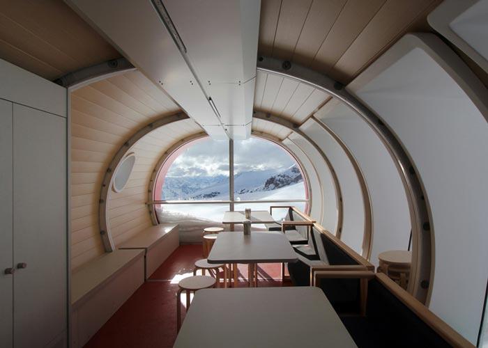 Interior design of LEAPrus 3912 - A Mountain Hotel in Russia