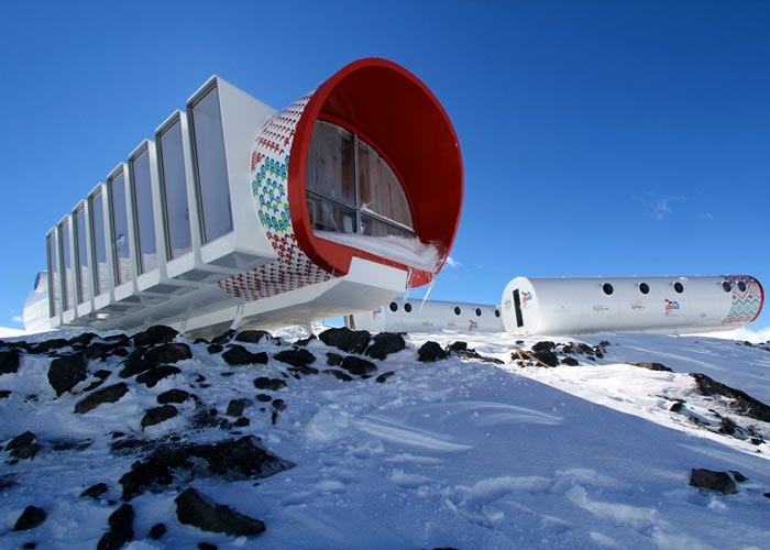 LEAPrus 3912 - A Mountain Hotel in Russia World's Highest Hotel