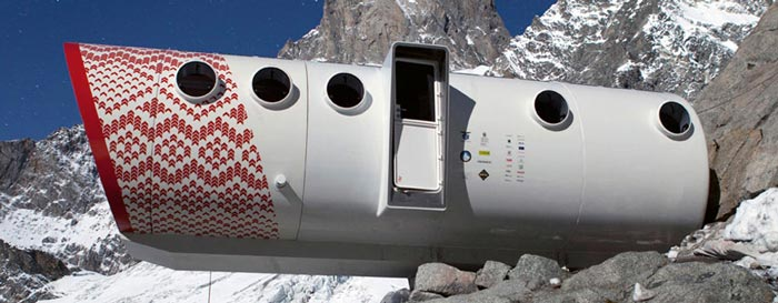 Exterior view of the LEAPrus 3912 - A Mountain Hotel in Russia World's Highest Hotel