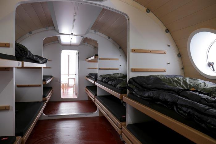 Interior decor of LEAPrus 3912 - A Mountain Hotel in Russia