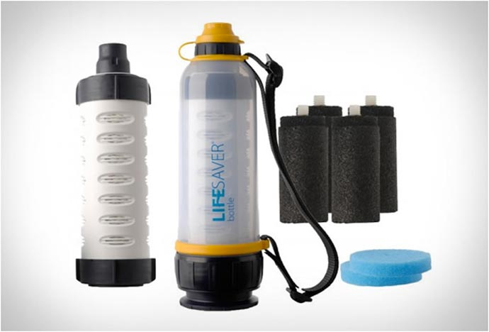 Lifesaver Bottle - A Portable Water Filter System
