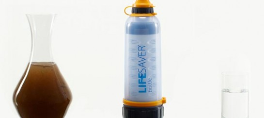LIFESAVER BOTTLE | PORTABLE WATER FILTER SYSTEM