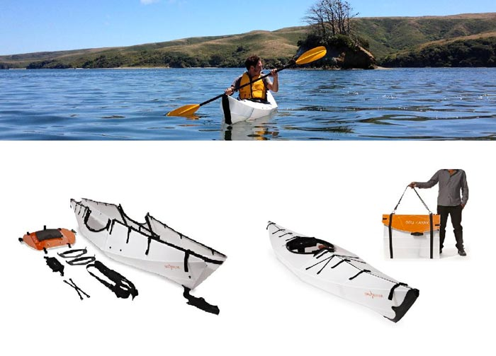 Oru Kayak - A Portable Origami Folding Boat