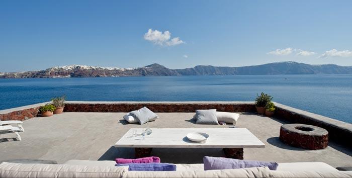 Scenery from Perivolas Hideaway in Thirassia, Santorini