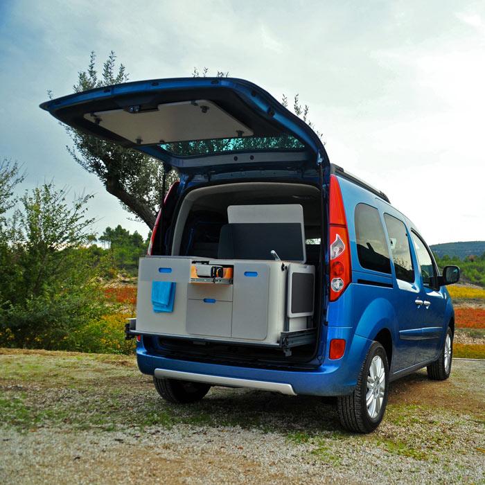 renault kangoo camper travelpack by ovicuo. Black Bedroom Furniture Sets. Home Design Ideas