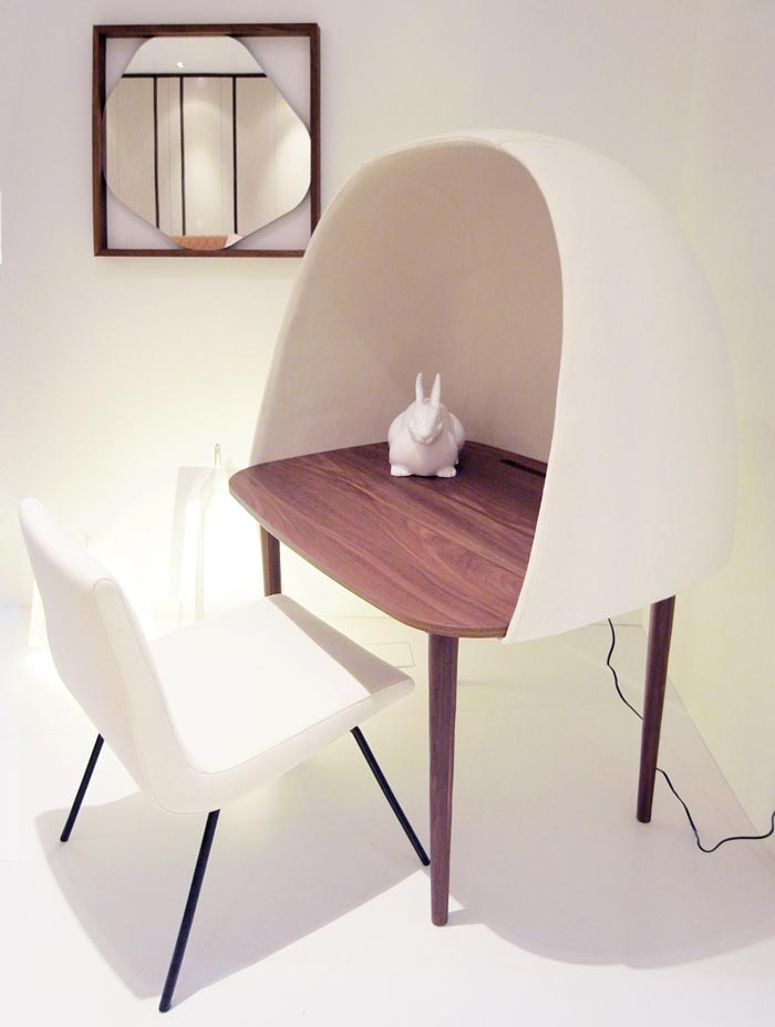 Rewrite Desk and chair by GamFratesi and Ligne Roset
