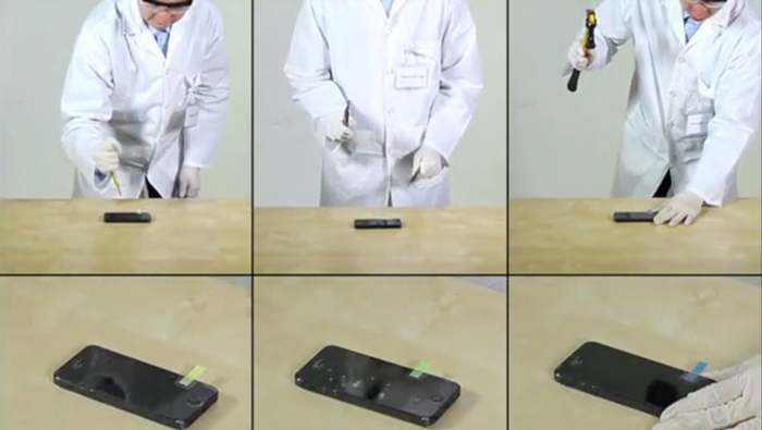 Testing the strength of the Rhino Shield Impact MK2 Resistant Screen Protector
