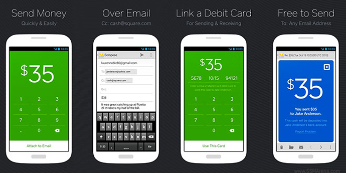 Square Cash - Free Service to Send Money with Email