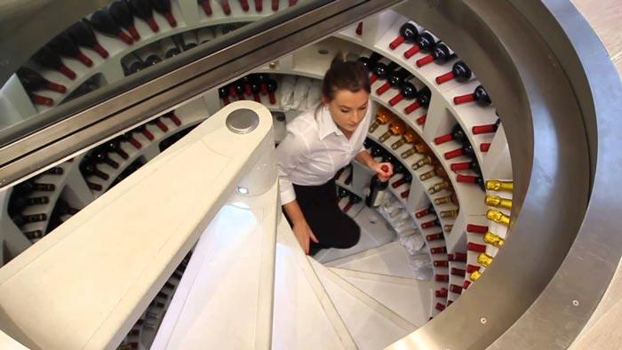Underground Spiral Wine Cellar Jebiga Design Amp Lifestyle