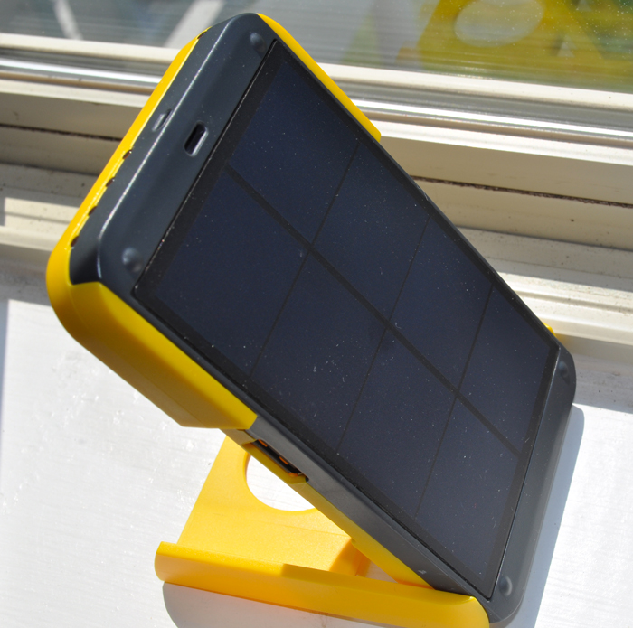 Charging panels of the WakaWaka POWER