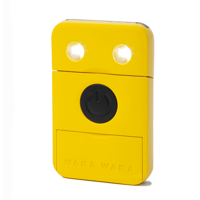 LED lights of the WakaWaka POWER