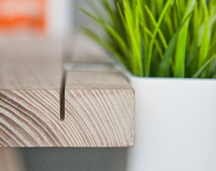 Edge of the WorkNest Desk - A Customizable Desk