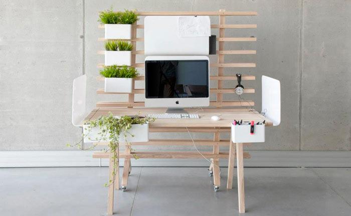 WorkNest Desk - A Customizable Desk on Jebiga