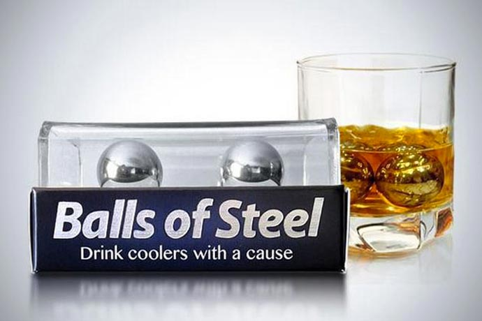 Balls of Steel Whiskey drink chiller