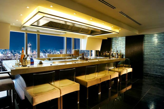 Bar at Banyan Tree Hotel in Bangkok