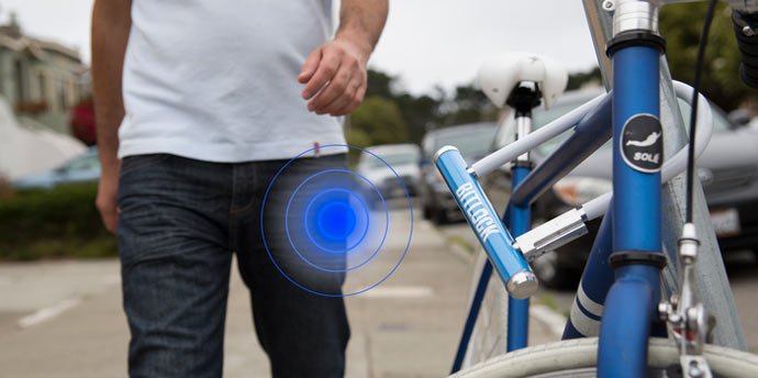 Keyless feature of the BITLOCK KEYLESS BICYCLE LOCK