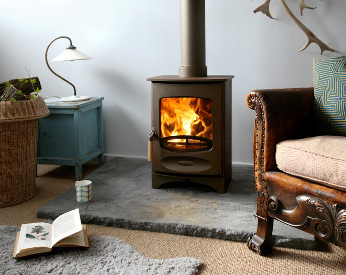 C-Four Wood Stove by Charnwood 10