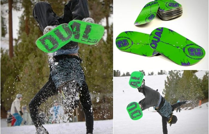 Green Dual Snowboards
