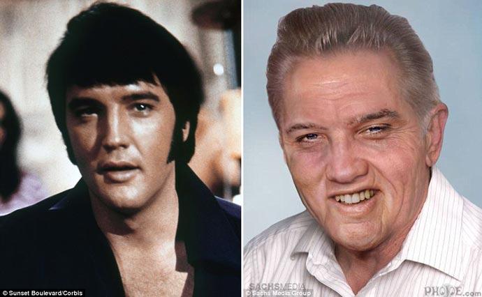Elvis Presley - How Would he Look if Alive