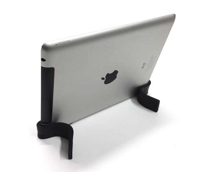 Gumstick flexible stand used on an iPad