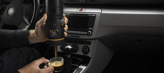 HANDPRESSO AUTO | ESPRESSO MAKER FOR THE CAR