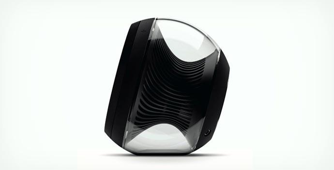 Black Harman Kardon Nova Speaker