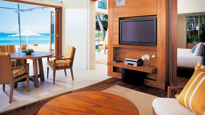 Room design at HAYMAN ISLAND RESORT in AUSTRALIA