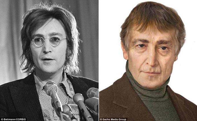 John Lennon - How Would he Look if Alive