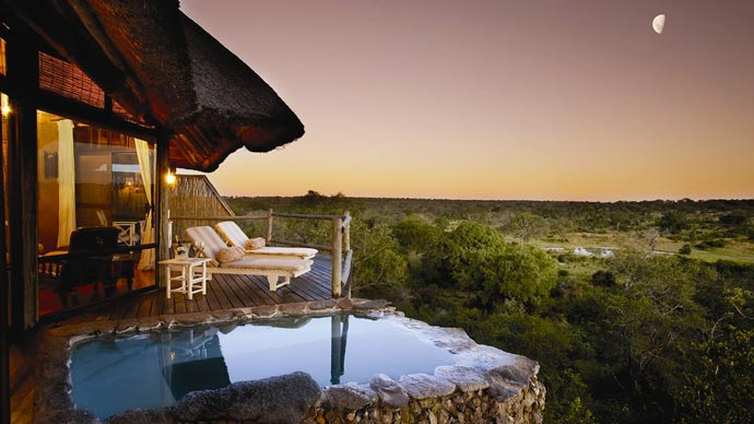Outdoor pool at Leopard Hills Sabi Sand Game Reserve