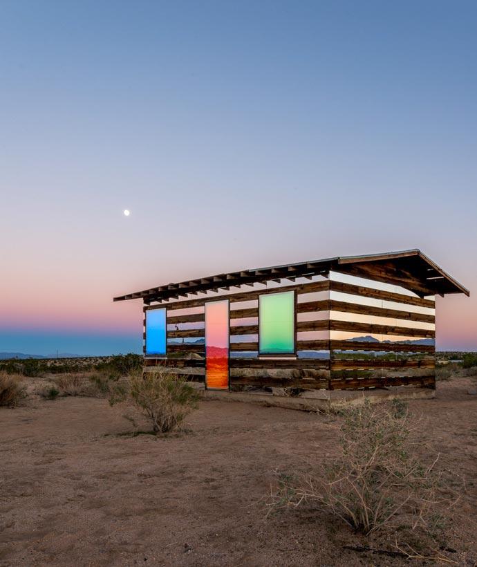 Lucid Stead | Art Installation in the Californian Desert 0