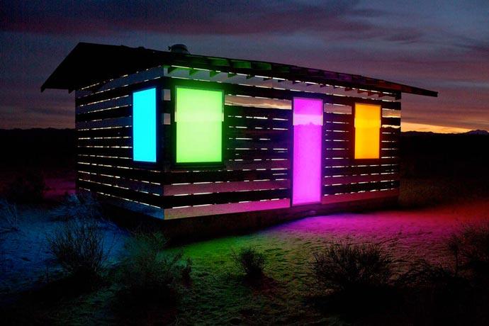 Lucid Stead | Art Installation in the Californian Desert 1