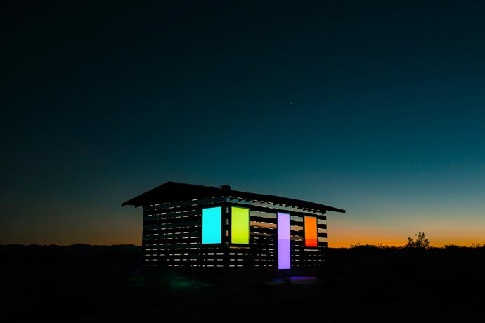 Lucid Stead | Art Installation in the Californian Desert 6