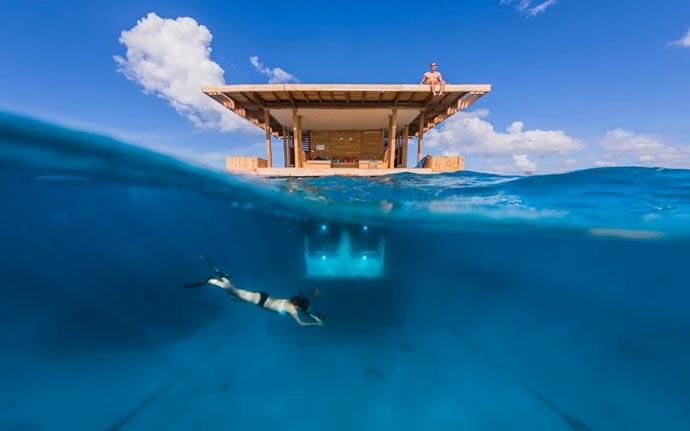 Manta Resort Underwater Room in Zanzibar 5