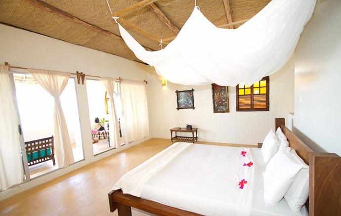 Room at Manta Resort in Zanzibar